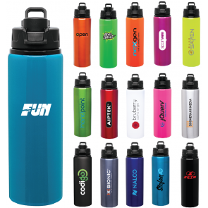 Promotional Water Bottles - H2Go Surge Aluminum Water Bottles | 28 oz