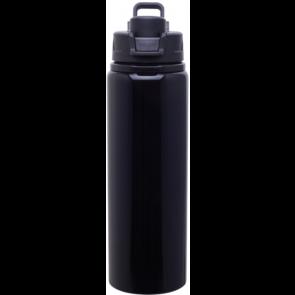 Black H2Go Surge Aluminum Water Bottles   28 oz