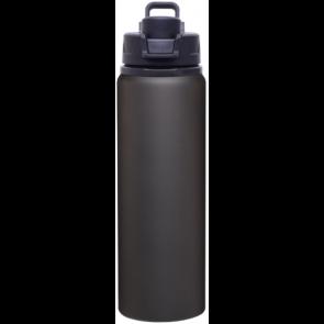 Black H2Go Surge Aluminum Water Bottles   28 oz - Matte Black