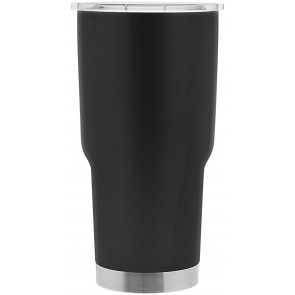 30 oz Glacier Copper Vacuum Insulated Thermal Tumblers-Matte Black