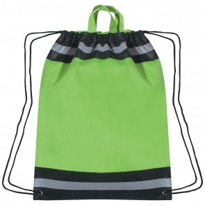 Printed Reflective Hit Sports Pack - Lime Green