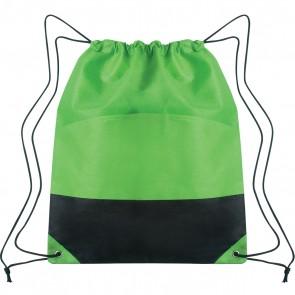Custom Drawstring Sports Pack - Lime Green