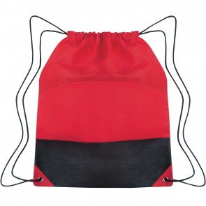 Custom Drawstring Sports Pack - Red