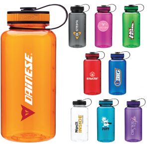 Promo Water Bottles - H2Go Wide Tritan Water Bottles | 34 oz