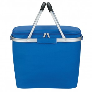 Custom Picnic Fun Collapsible Kooler Basket - Royal Blue