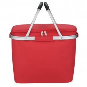 Custom Picnic Fun Collapsible Kooler Basket - Red