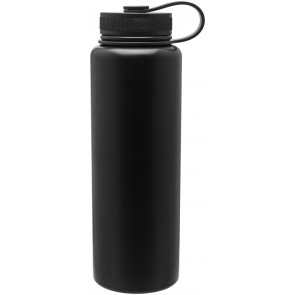 40 oz H2Go Venture Stainless Steel Thermal Water Bottles-Matte Black