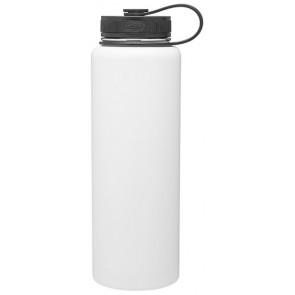 White 40 oz H2Go Venture Stainless Steel Thermal Water Bottles