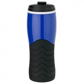 Tumblers with Grip   14 oz - Blue