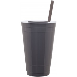 The Player Acrylic Cup | 16 oz - Grey