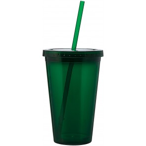 16 oz spirit tumbler-green