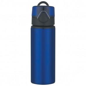Aluminum Sports Bottles With Flip Top Lid | 25 oz - Blue