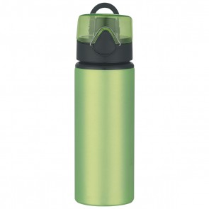 Aluminum Sports Bottles With Flip Top Lid | 25 oz - Lime Green