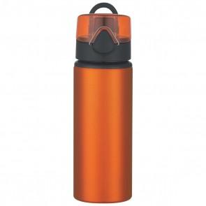 Aluminum Sports Bottles With Flip Top Lid | 25 oz - Orange