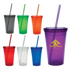 Wholesale Tumblers - Economy Double Wall Tumbler | 16 oz