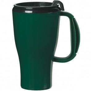 Evolve Omega Mugs   16 oz - Dark Green