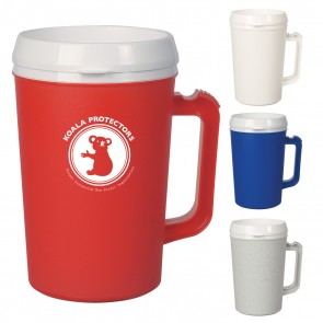 Custom Logo Mugs - Thermo Insulated Mug | 34 oz