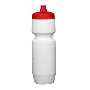 Proshot Water Bottles | 24 oz - White with Red Lid