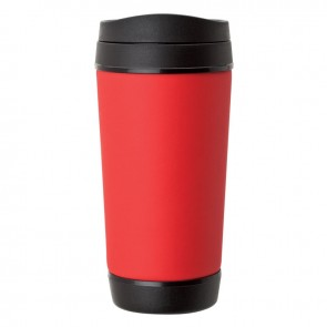 Perka Insulated Mugs | 17 oz - Red