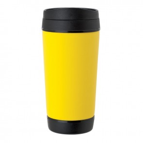 Perka Insulated Mugs | 17 oz - Yellow