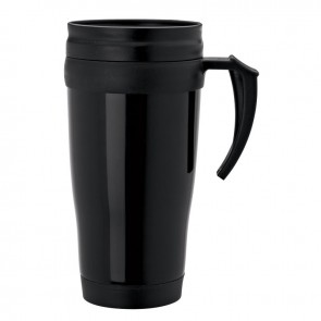 Double Wall PP Mugs | 16 oz - Black