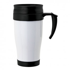 Double Wall PP Mugs | 16 oz - White