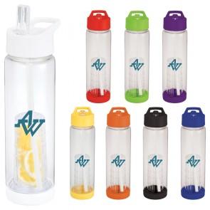 Personalized Sports Water Bottles - Tutti Frutti BPA Free Tritan Sports Bottles | 25 oz