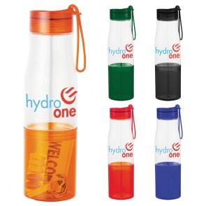 Personalized Sports Water Bottles - Hide-Away Tritan Sports Bottles | 16 oz