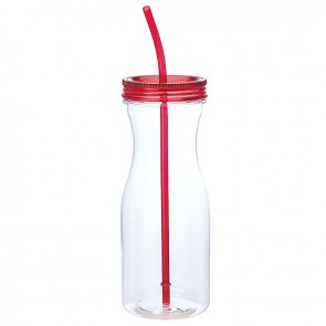 Carafe Style Tumblers   35 oz - Red