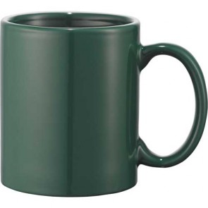 Bounty Ceramic Mugs   11 oz - Green