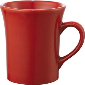 Zander Ceramic Mugs | 14 oz - Red
