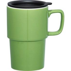 Contra Ceramic Mugs | 17 oz - Lime Green