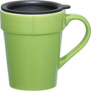 Habanera Ceramic Mugs   10 oz - Lime Green