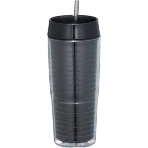 Xander Tumblers With Straw | 20 oz - Black