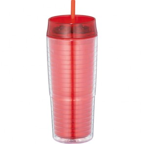 Xander Tumblers With Straw | 20 oz - Red