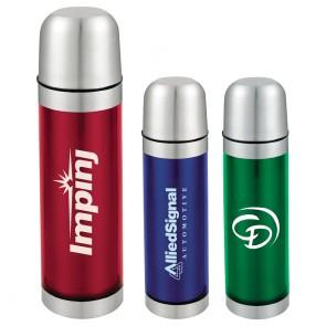Personalized Water Bottles - Bullet Vacuum Bottles | 16.9 oz