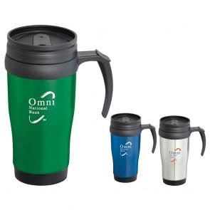 Custom Logo Mugs - Sanibel Travel Mug | 14 oz