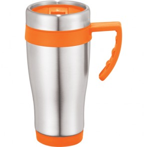 Seaside Travel Mugs | 15 oz - Orange