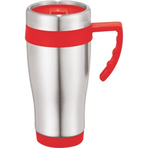Seaside Travel Mugs | 15 oz - Red