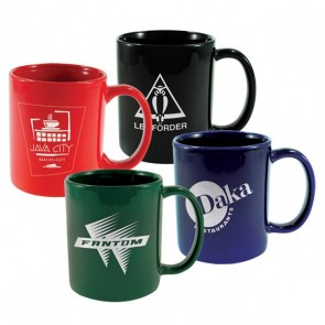 Custom Logo Mugs - Cafe Mug | 11 oz