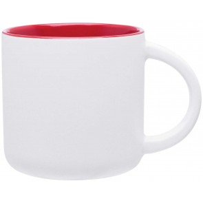 Minolo Mugs - Matte White | 14 oz - Red