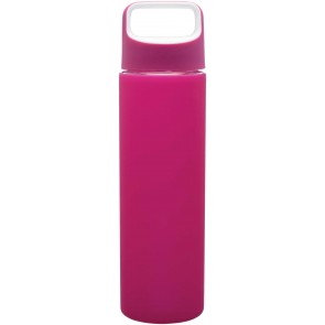 H2Go Inspire Glass Water Bottles | 18 oz - Pink