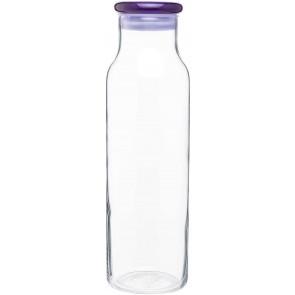 H2Go Vibe Glass Bottles | 22 oz - Purple