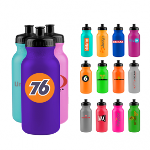 Wholesale Water Bottles - The Omni - 20 oz. Bike Bottles Colors
