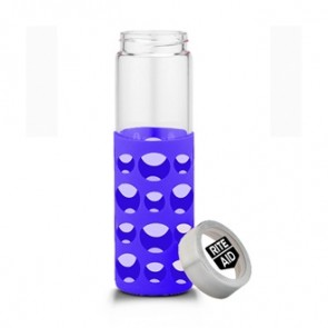 Veranda Grip | 20 oz - Clear with Purple Grip