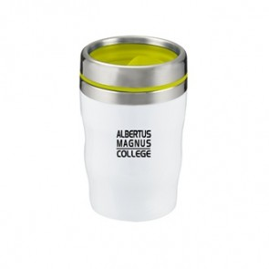Levana | 12 oz - White with Yellow Lid and Band