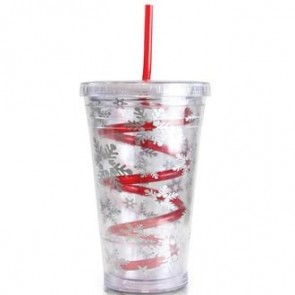 Slurpy With Crazy Straw And Film Insert | 16 oz