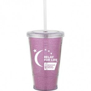 Slurpy With Ultra Insert | 16 oz - Pink