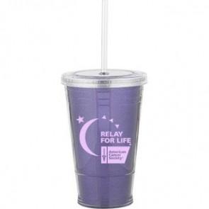 Slurpy With Ultra Insert | 16 oz - Purple