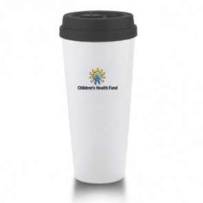 I`m Not A Venti Cup | 20 oz - White with Black Lid